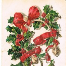 Image of Christmas Greetings Postcard