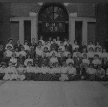Image of 1908 Senior Class, Delaware High School, Delaware, Ohio - 1908