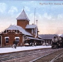 Image of Big Four Rail Road Station - Delaware, Ohio
