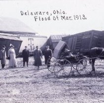Image of Picture of the 1913 Great Flood, Delaware, Ohio