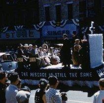 Image of 1958 Sesqui Parade - Stratford - Saint Paul Church Float - Delaware - Ohio -