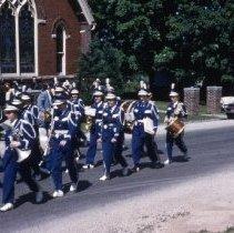 Image of Radnor High School Band in 1954 - Radnor - Delaware - Ohio