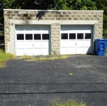 Image of Front View of the Garage