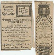 Image of Spokane and Chicago Ad