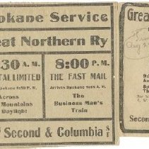 Image of Spokane GN Ads 1907