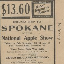 Image of Spokane on the GN 1912
