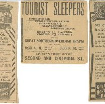 Image of Tourist Sleepers on the GN Ad