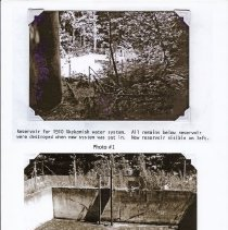 Image of 1910 Water Supply Photo 1 and 2