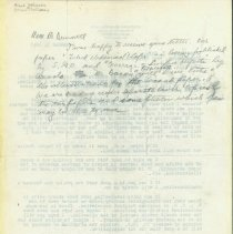 Image of Bunnell Letter on Beginning a Hand Society, 2