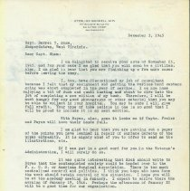 Image of Bunnell Letter on Beginning a Hand Society, 1