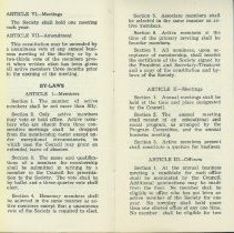 Image of 1940's era Bylaws, 4