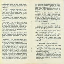 Image of 1940's era Bylaws, 5