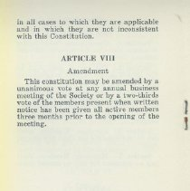 Image of Bylaws c. 1959, 5