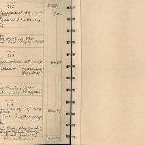 Image of ASSH Check Register, 1953-1956