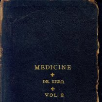 Image of Dr. Sterling Bunnell's Medical School Books, 4