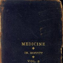 Image of Dr. Sterling Bunnell's Medical School Books, 6