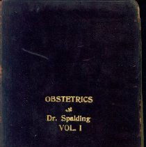 Image of Dr. Sterling Bunnell's Medical School Books, 7