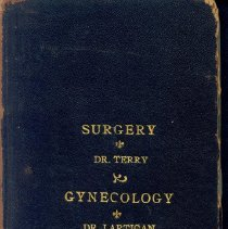 Image of Dr. Sterling Bunnell's Medical School Books, 8
