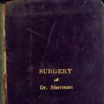 Image of Dr. Sterling Bunnell's Medical School Books, 9