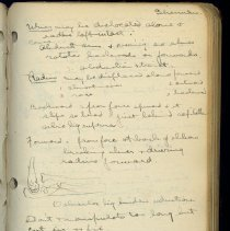 Image of Bunnell Medical School Book With Handwritten Notes