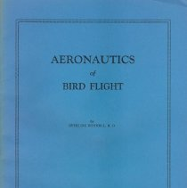 Image of Bunnell's Aeronautics of Birds of Flight, 1