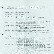 Image of Agenda, page 1