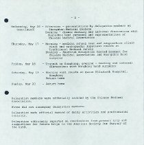 Image of Agenda, page 2