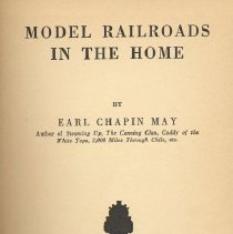 Image of Model Railroads in the Home - Instructive book on building and operating model layouts. Model railroad construction, dioramas, locomotives, live steam, model railroad clubs