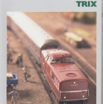 Image of Trix Main Catalog 2005/05 - Catalog of Trix 2004-05 offerings in HO and N gauge trains and accessories.