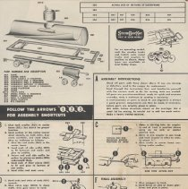 Image of Tank Car: An Authentic Scale Model - Instruction sheet for HO scale model tank car kit