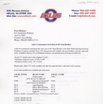 Image of Atlas O Press Release - Atlas O press release for 40' steel reefers,  50' PS-1 boxcars and SD40 locomotives.