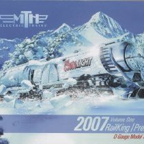 Image of MTH Electric Trains 2007 RailKing/Premier Catalog  2007 Volume One - MTH line of O gauge toy trains and accessories for 2007