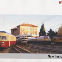 Image of Marklin New Items Catalog 2007 - New items in HO, Z, 1 gauges for 2007.  Locomotives, cars and accessories