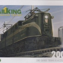 Image of MTH RailKing 1 Gauge Catalog 2007 - RailKing  1 Gauge Trains & Accessories 2007.  Includes Proto-Sound 2.0, DCS, Diesel, Steam and Electric locomotives,  freight and passenger cars.