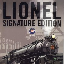 Image of Lionel Signature Edition Catalog 2009 - Lionel Signature Edition.  Vision Line-locomotives, rolling stock, accessories.  Classic Line-Standard O scale, Conventional classics, Traditional O gauge.  The Electric RR Co.  Control Systems, American Flyer S Gauge.