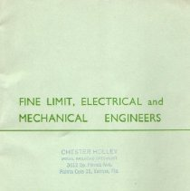 Image of Edward Exley Ltd. 1958 Catalog - Edward Exley Ltd.  Fine limit, Electrical and Mechanical Engineers  OO gauge parts and accessories.   British manufacturer.
