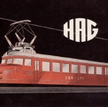 Image of HAG Catalog - HAG of Switzerland.  HO and O gauge  toy trains and accessories.