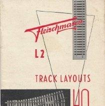 Image of Fleischmann L2 Track Layouts HO For Model RailRoads - Different HO Gauge Track Layout  Ideas