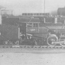 Image of #157 Locomotive - Kit built HO gauge #157 locomotive.  Photo unclear.  Good condition.