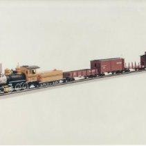 Image of D&RGW Silverton Flyer Train Set - Bachman Industries introduces the On30 scale Silverton Flyer, the first freight set in their popular line of O scale trains that run on HO track.