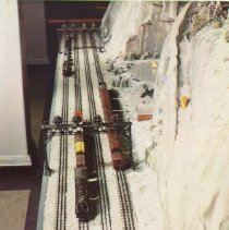 Image of Lionel Christmas Layout - Lionel Christmas layout 1948.