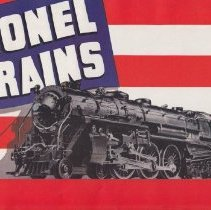 Image of Lionel Trains - This catalog includes No. 1086 O-27 Gauge Passenger Train Outfit,  No. 1094 O-27 Gauge Freight Train Outfits, Tunnels, Accessories