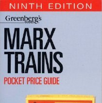 Image of Greenberg's Pocket Price Guide to Marx Trains - Illustrated price guide to Marx Trains