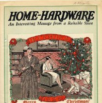 Image of R.S. Donaldson Paint & Hardware Catalog - R.S. Donaldson Paint & Hardware.  Home-Hardware.  Ad for American Flyer trains and Erector sets.