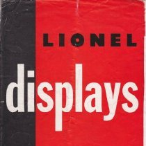 Image of Lionel Displays for 1950, The Golden Anniversary Year - Flyer, Lionel Displays for 1950