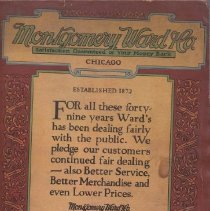 Image of Montgomery Ward & Co. Catalog and Buyer's Guide - Montgomery Ward & Co. Fall and Winter 1921-22 Catalog Friction toy trains, Spring operated train Pages 451-453