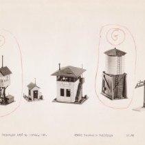 Image of Revell HO Gauge Catalog Pictures - Revell HO gauge  T9002 Trackside Buildings  Price $2.49