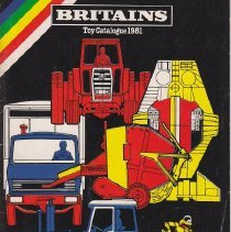 Image of Britains Toy Catalog 1981 - Catalog, Britains
