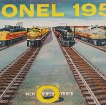 Image of Lionel 1957, New suoer O Tracl - Catalog, Lionel Corp., Printed for the Canadian Market