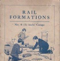 Image of Rail Formations - Instruction Booklet, Bassett-Lowke Ltd., Scale 0( 11/4 Inch) Gauge